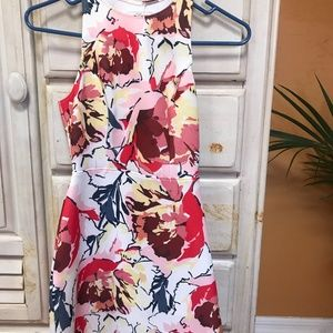 Abercrombie & Fitch Floral Pattern Dress
